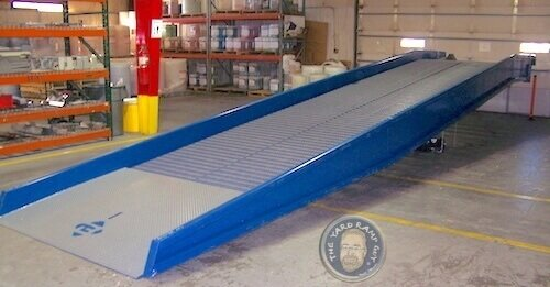New Mobile Steel Yard Ramp: Ready for Delivery