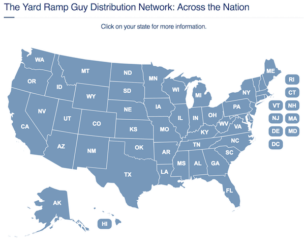 Yard Ramp Guy: Across the Nation