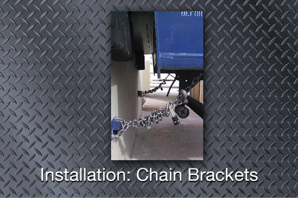 YRG Installation: Chain Brackets