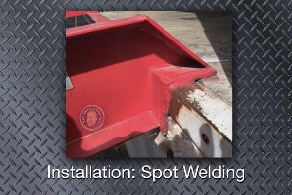 YRG Installation: Spot Welding