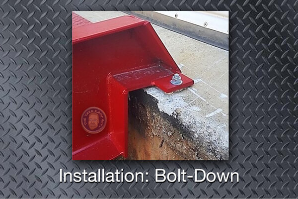YRG Installation: Bolt-Down