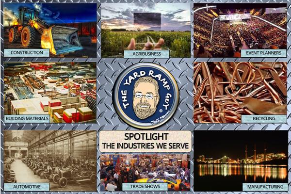 YRG Industries we serve